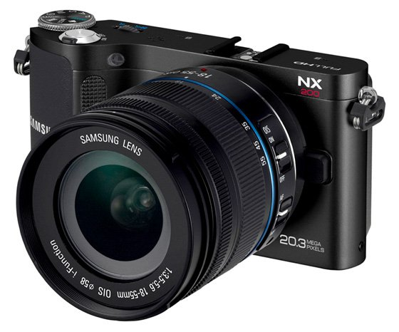 Samsung NX200 20 3Mp APS-C compact system camera • The Register