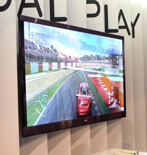 LG Cinema 3D TV Dual Play mode