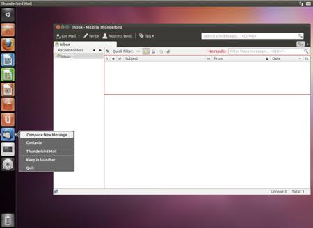 Ubuntu 11.10 Thunderbird