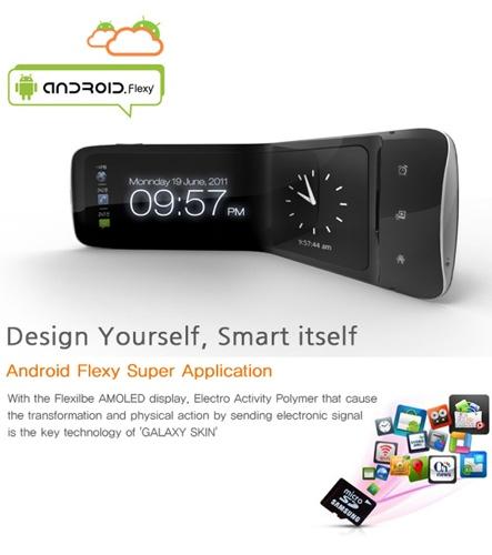 Heyon You Samsung Galaxy Skin concept smartphone
