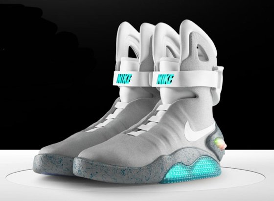 Nike auctions Back to the Future trainers • The Register