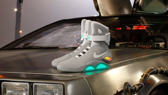 Nike Air Mag replica Back to the Future II trainers