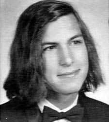 Steve Jobs in high school