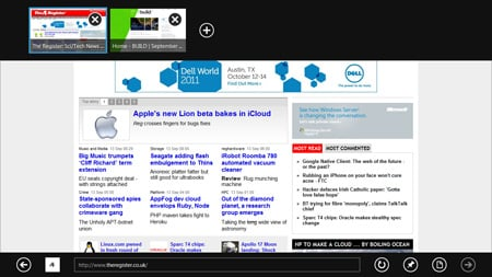 IE Metro in Windows 8