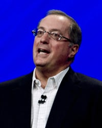 Intel CEO Paul Otellini at IDF 2011