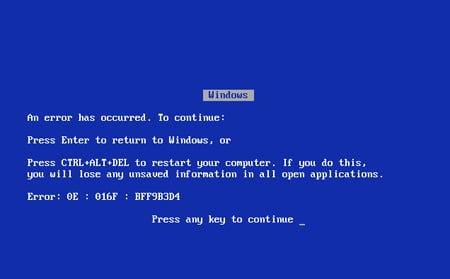 Blue Screen of Death gets makeover for Windows 8 \u2022 The Register