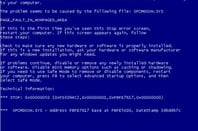 Windows XP BSOD