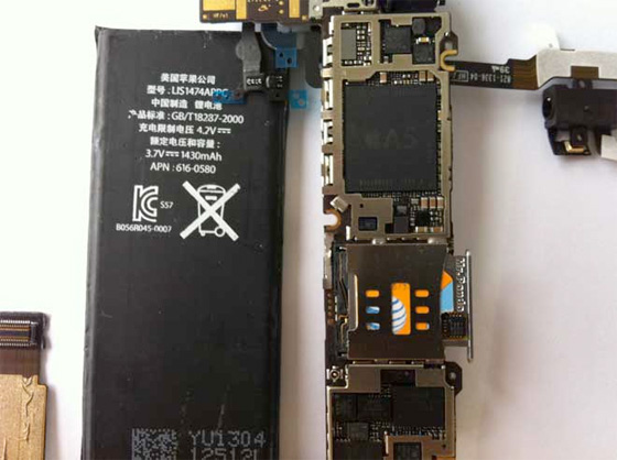 iPhone 4S insides