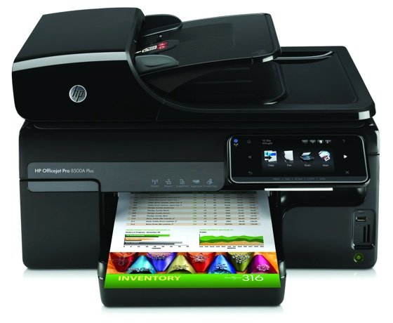 HP Officejet Pro 8500A Plus inkjet printer