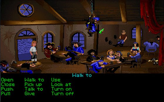 The Secret of Monkey Island screenshot