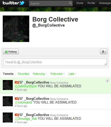 BorgCollective Twitter credit: Yousaf Sekhander