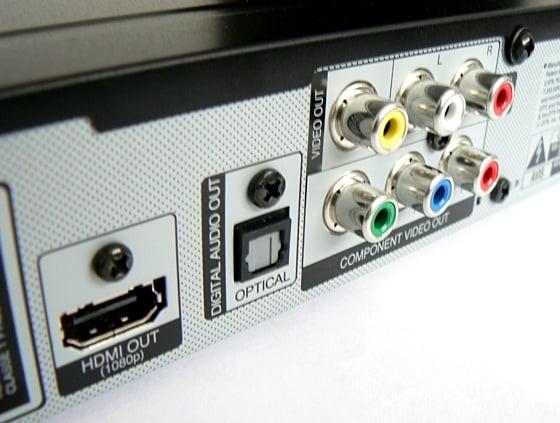 LG BD670 3D Blu-ray Disc player