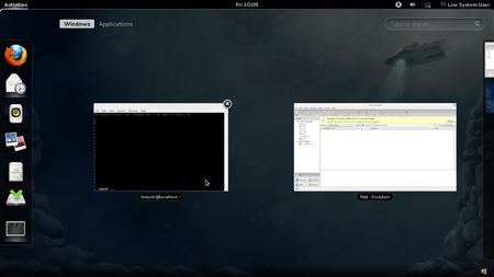 Fedora 16 beta Gnome 3.2