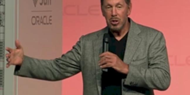 Oracle Ellison Sparc T4 launch