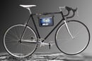 Samsung Galaxy Tab bicycle