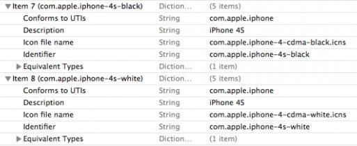 Apple iTunes 10.5 iPhone 4S reference