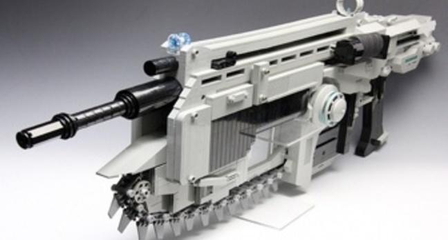 Lego Gears of War gun