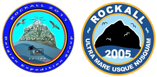 The Belgian Rockall logo and our 2005 original