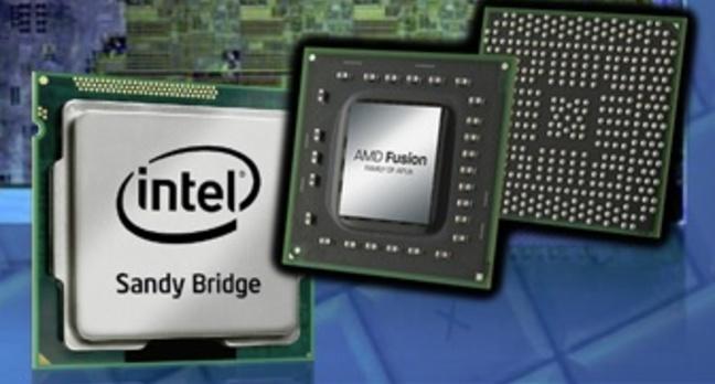 AMD Llano vs Intel Sandy Bridge notebook chips
