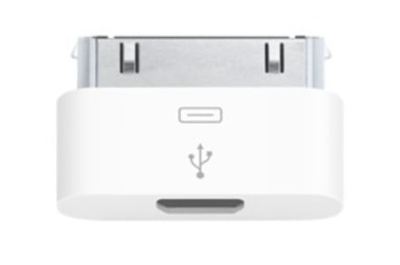 Apple micro USB adaptor for iPhone