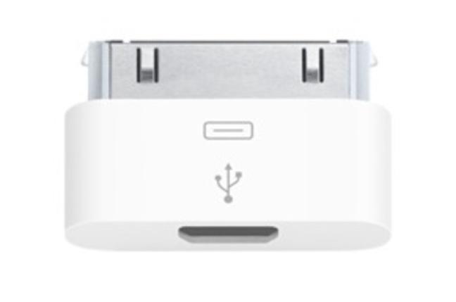 Apple micro USB adaptor for iPhone