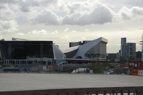 Zaha Hadid Olympic venue, credit The Register