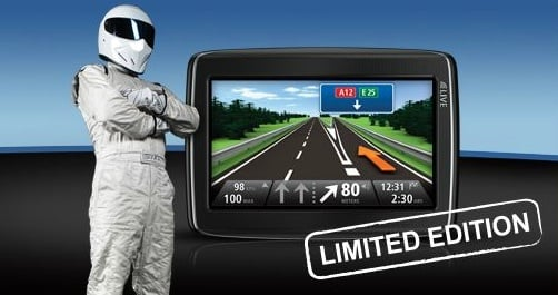 TomTom Top Gear satnav