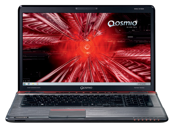 Toshiba Qosmio X770 17.3in 3D gaming notebook