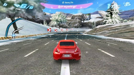 Asphalt 6 Adrenaline Android game screenshot
