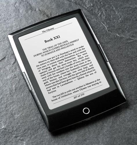Bookeen Cybook Odyssey HSIS e-book reader