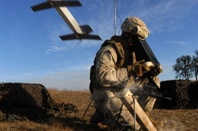 The Switchblade drone missile for the US Army. Credit: AeroVironment