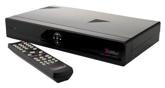 3view 3VHD Freeview HD DVR