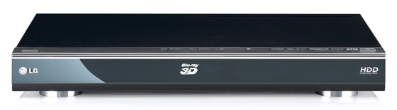 LG HR600 Freeview HD DVR with Blu-ray player