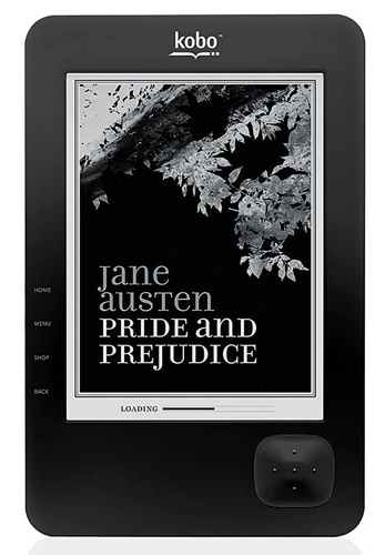 WHSmith Kobo Wireless e-book reader