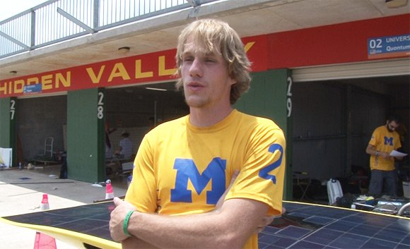 Troy Halm of the University of Michigan