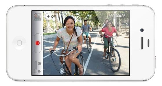 Apple iPhone 4s smartphone