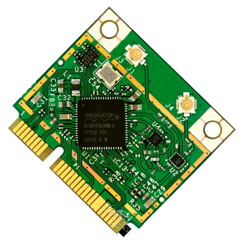 Broadcom's BCM43142 802.11n Wi-Fi and BT 4.0 chip