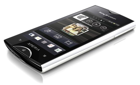 Sony Ericsson Xperia Ray Android smartphone