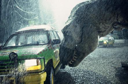 Jurassic Park Ultimate Trilogy Blu-ray disc set
