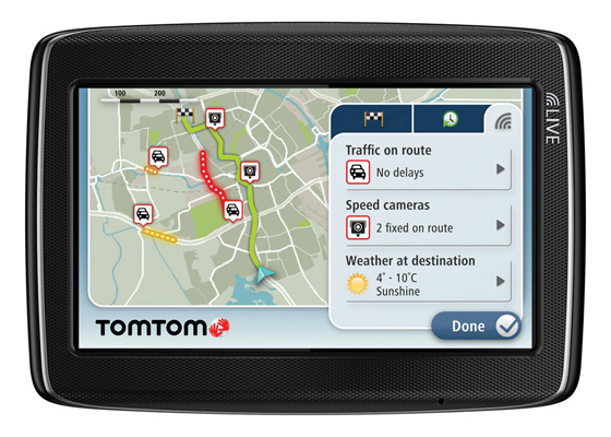 TomTom Go Live TopGear Edition