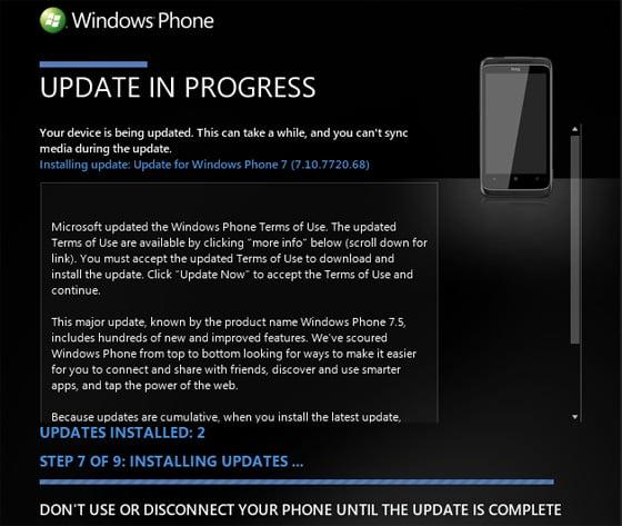 Zune for Windows Phone 7