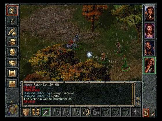 BioWare Baldur's Gate PC game