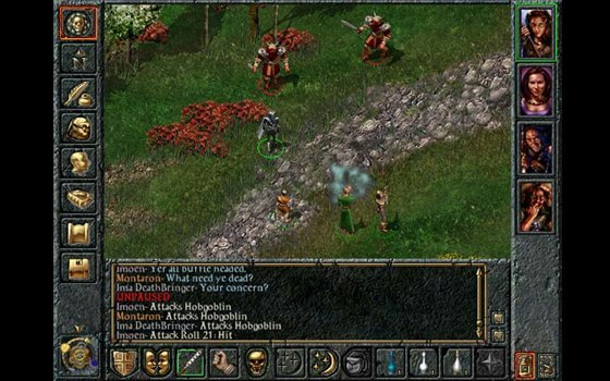 BioWare Baldur's Gate PC game