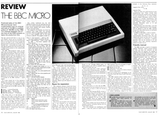 Your Computer reviews the BBC Micro