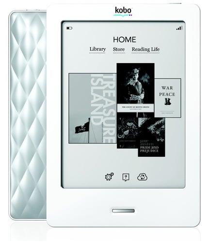 WHSmith Kobo Touch e-book reader