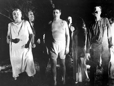 Zombies, credit: Wikimedia from Night of The Living Dead