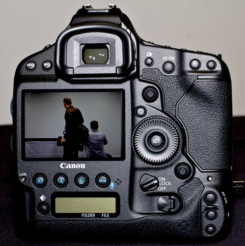 Canon EOS-1D X full-frame DSLR camera