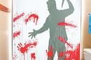Bloody Serial Killer Shower Curtain