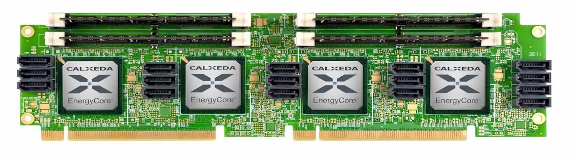 Calxeda EnergyCore server board