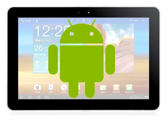 Ten high-end Android tablets illustration